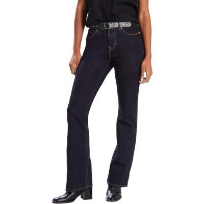 リーバイス カジュアルパンツ ボトムス レディース Levi's Women's Classic Bootcut Jeans Island Blue