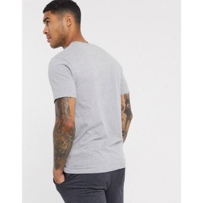 グッドフォーナッシング メンズ Tシャツ トップス Good For Nothing t-shirt in gray with logo Gray