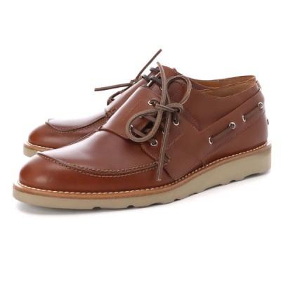 メゾンマルジェラ Maison Margiela レースアップシューズ Stringate Spliced in pelle 革靴 大きいサイズあり ブラウン メンズ s37wq0267-p3292-h4200