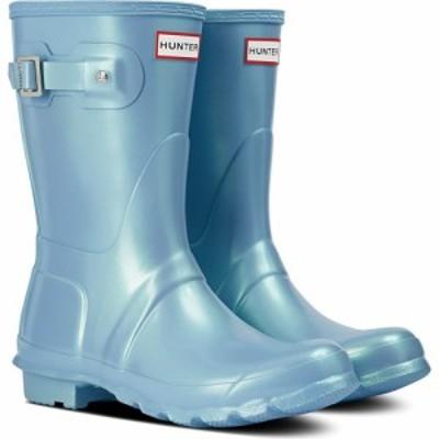 ハンター HUNTER レディース レインシューズ・長靴 シューズ・靴 Original Short Nebula Rain Boot Blue Thistle