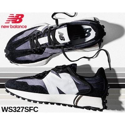 NEW BALANCE WS327SFC BLACK GREY ニューバランス ウィメンズ 327 レディース スニーカー ブラック
