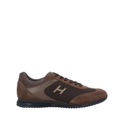 ホーガン HOGAN スニーカー&テニスシューズ(ローカット) ブラウン 9.5 革 / 紡績繊維 スニーカー&テニスシューズ(ローカット)