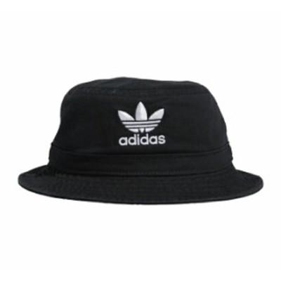 (取寄)アディダスオリジナルス ウォッシュド バケット ハット adidas Originals Washed Bucket Hat Black White 送料無料