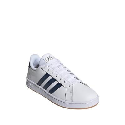 アディダス メンズ スニーカー シューズ Grand Court Leather Sneaker FTWWHT/CRE