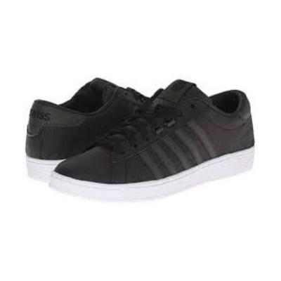 アスレチックシューズ ケースイス K-Swiss Hoke Comfort Low Black/White Men's Memory Foam Tennis Shoes 03614058