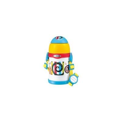 ZOJIRUSHI(象印マホービン) ステンレスボトル ストロータイプ 450ml TUFF しましまぐるぐる ST-ZH45S-EW