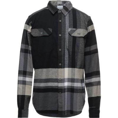 コロンビア COLUMBIA メンズ シャツ トップス Checked Shirt Black