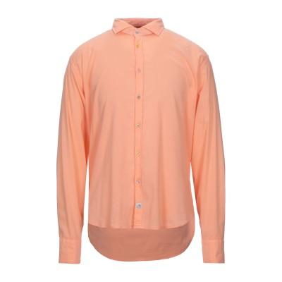 PANAMA シャツ あんず色 S コットン 96% / ポリウレタン 4% シャツ