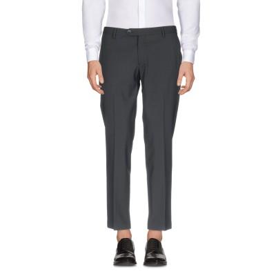 MICHAEL COAL パンツ ブラック 31 99% ウール 1% ポリウレタン パンツ
