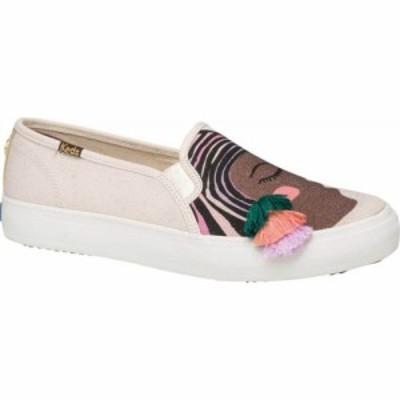 ケッズ Keds レディース スニーカー シューズ・靴 Jungalow Duet Double Decker Canvas Sneaker Natural Multi Jersey/Gingham Canvas