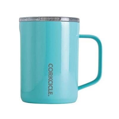 SPICE OF LIFE(スパイス) ステンレスマグカップ ふた付き COFFEE MUG CORKCICLE ターコイズ 400ml 16oz 保