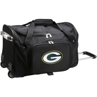 モジョ Mojo Licensing ユニセックス スーツケース・キャリーバッグ バッグ Mojo Green Bay Packers Wheeled Duffle