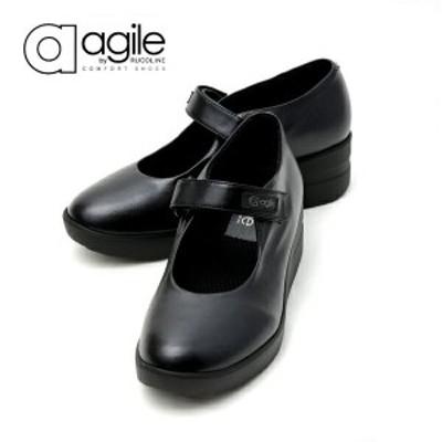 ルコライン アージレ agile RUCO LINE 靴 CANTADORA ブラック 黒 簡易 フォーマル ストラップ タイプ agile-227