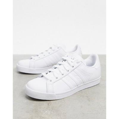 アディダス adidas Originals メンズ スニーカー シューズ・靴 Coast Star trainers in white ホワイト