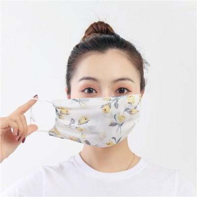 マスク 夏用 冷感マスク 涼しい 洗える 大きめ シルクマスク 5枚セット ひんやり 夏マスク  UVカット 立体 紫外線対策 メンズ レディース 安い 繰り返す