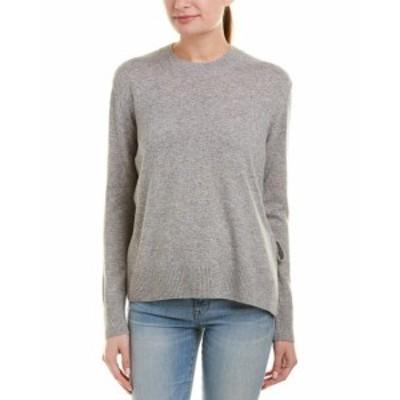 Vince ヴィンス ファッション トップス Vince Tie-Side Cashmere Sweater L Grey