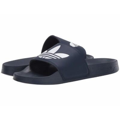 アディダス サンダル シューズ メンズ Adilette Lite Collegiate Navy/Footwear White/Collegiate Navy