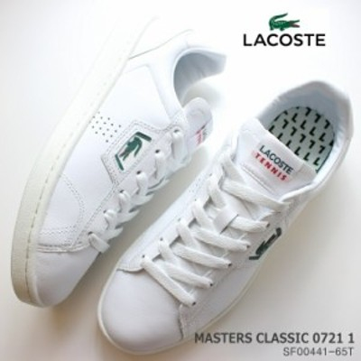ラコステ レディーススニーカー LACOSTEACE MASTERS CLASSIC 0721 1 SF00441-65T 白 スニーカー コート系スニーカー