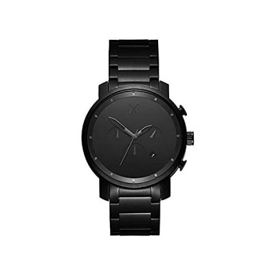 MVMT Men's Chronograph Watch with Analog Date | Black Link