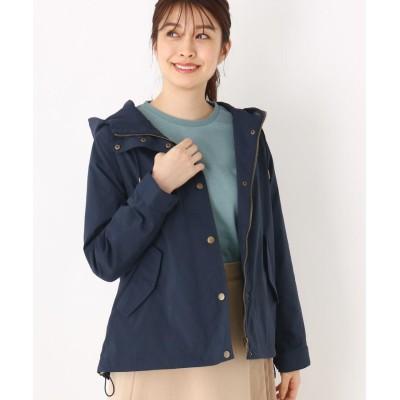 SHOO・LA・RUE(シューラルー) 【M-LL】フード付きライトジャケット
