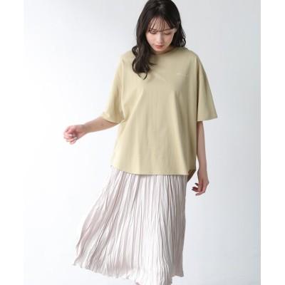 (Honeys/ハニーズ)フォトプリントTシャツ/レディース イエロー