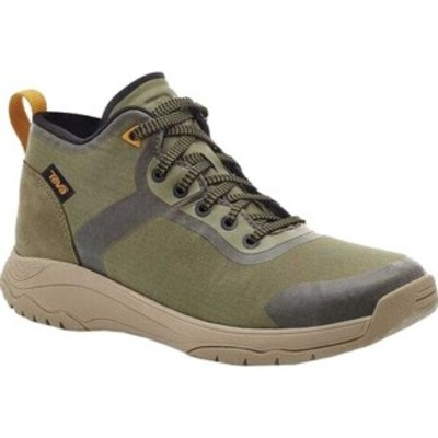 テバ レディース ブーツ&レインブーツ シューズ Gateway Mid Hiking Sneaker Burnt Olive Recycled Polyester/Suede