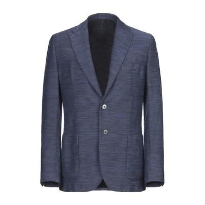SANTANIELLO テーラードジャケット ファッション  メンズファッション  ジャケット  テーラード、ブレザー ブルー