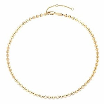 Mevecco Gold Coin Choker Necklace,14K Gold Plated Dainty Cute Tiny Coin Disc Chain Choker Necklace for Women (Coin)