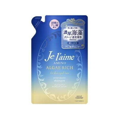 ディープモイスト アルゲリッチ シャンプー 詰替用 350ml ジュレーム(Je laime) アミノ KOSE COSMEPORT(コーセーコスメポート)