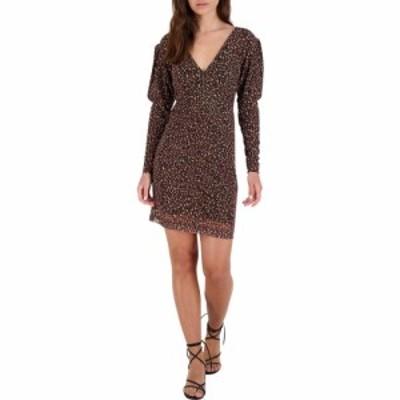 ビービーダコタ BB Dakota レディース ワンピース ワンピース・ドレス Animal Attitude Dress Brown