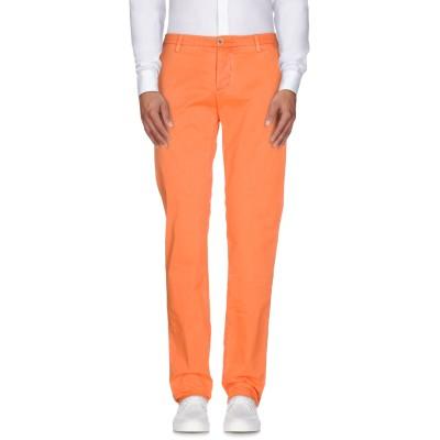 NO LAB パンツ オレンジ 31 コットン 97% / ポリウレタン 3% パンツ