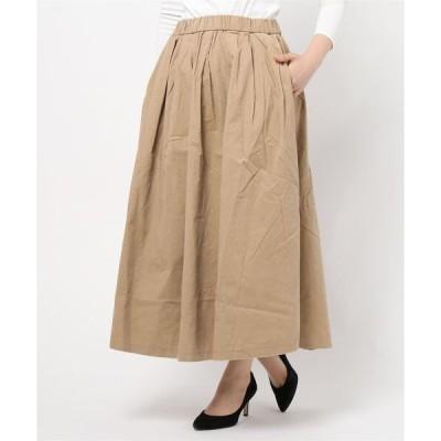 スカート シャツコールタックスカート*