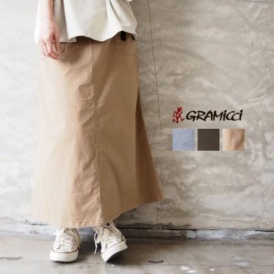 グラミチ GRAMICCI スカート レディース BAKER SKIRT 9301-FDJ ロングスカート ロング マキシ丈 カジュアル