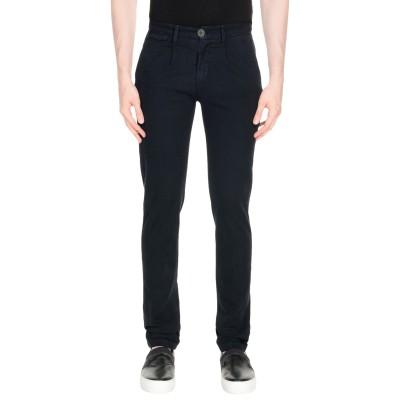 LIU •JO MAN パンツ ダークブルー 44 コットン 98% / ポリウレタン 2% パンツ