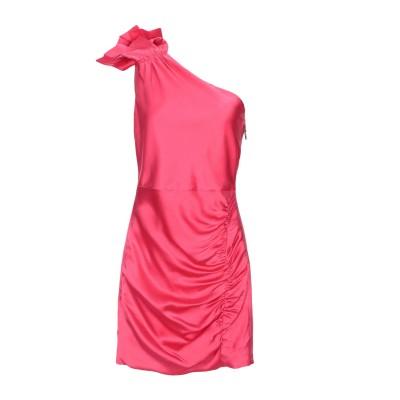 アリス・アンド・オリビア ALICE + OLIVIA ミニワンピース&ドレス フューシャ 2 シルク 91% / ポリウレタン 9% ミニワンピー