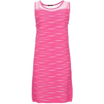 FRACOMINA ミニワンピース&ドレス フューシャ XS レーヨン 89% / ナイロン 11% ミニワンピース&ドレス