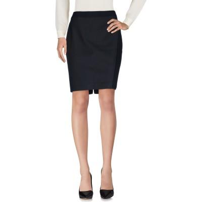 ELIE TAHARI ひざ丈スカート ブラック 8 50% ナイロン 45% コットン 5% ポリウレタン ひざ丈スカート