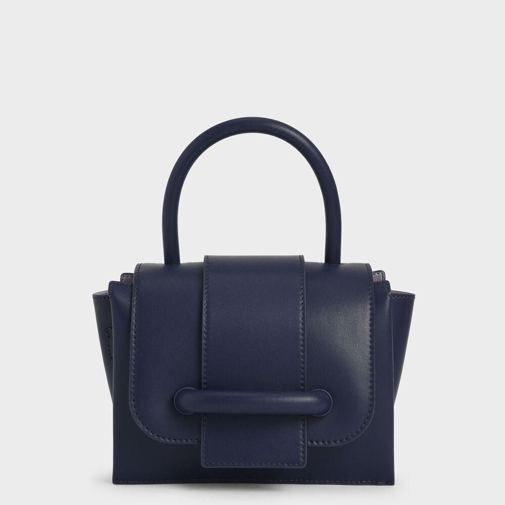 寬皮帶造型手提包