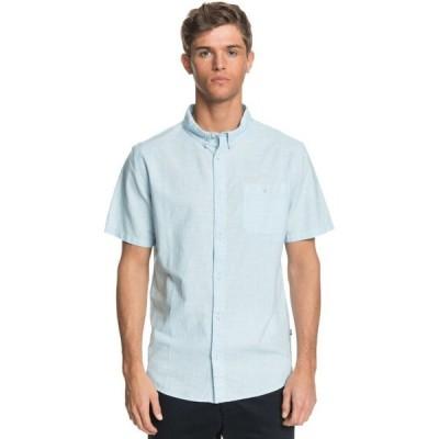クイックシルバー Quiksilver メンズ シャツ トップス Firefall Shirt Airy Blue