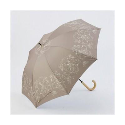 【粗品 記念品】フローラルレース・晴雨兼用長傘  安価/勤続記念に!