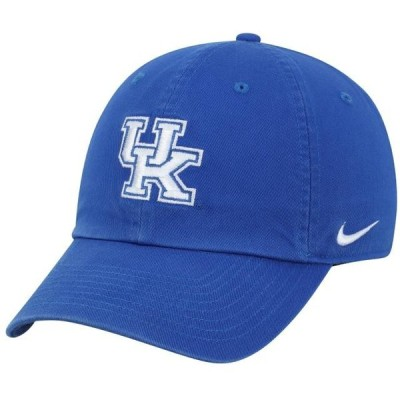 ユニセックス スポーツリーグ アメリカ大学スポーツ Kentucky Wildcats Nike Heritage 86 Logo Performance Adjustable Hat - Royal -