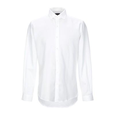 LIU •JO MAN シャツ アイボリー 41 コットン 100% シャツ