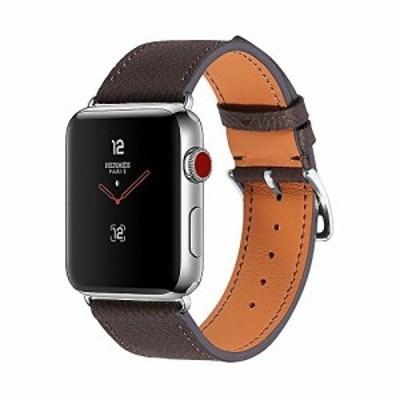 CHIMAERA コンパチブル Apple Watch 38MM 40MM 42MM 44MM 本革 女性メンズ アップルウォッチ ベルト 対応 iWatch Series 4/3/2/1 簡単交