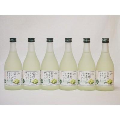 信州ナイアガラフルーツワインセット alc4% 甘口(長野県)500ml×6