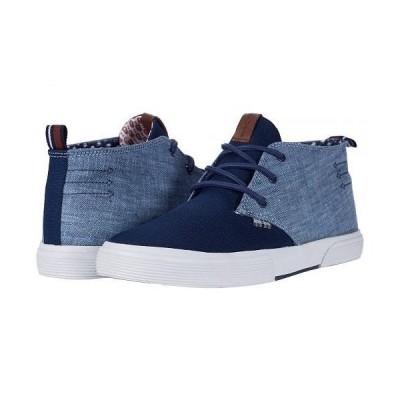 Ben Sherman ベンシャーマン メンズ 男性用 シューズ 靴 スニーカー 運動靴 Bradford Chukka - Navy Nylon/Pu