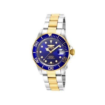 腕時計 インヴィクタ Invicta 17042 Gent's Automatic Blue Dial Two Tone Bracelet Watch