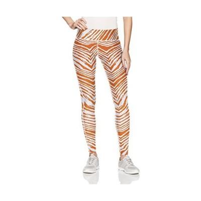 Zubaz PANTS レディース US サイズ: XS カラー: オレンジ