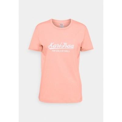 カリトラ Tシャツ レディース トップス MLSTER TEE - Print T-shirt - light pink