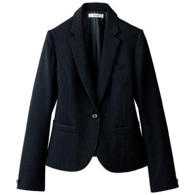 セロリー SELERY ジャケット 24780 ブラック (5〜15号) ユニフォーム 作業服 作業着 事務服 通勤服