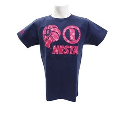モノグラムピンクTシャツ 182NB1003-NVY